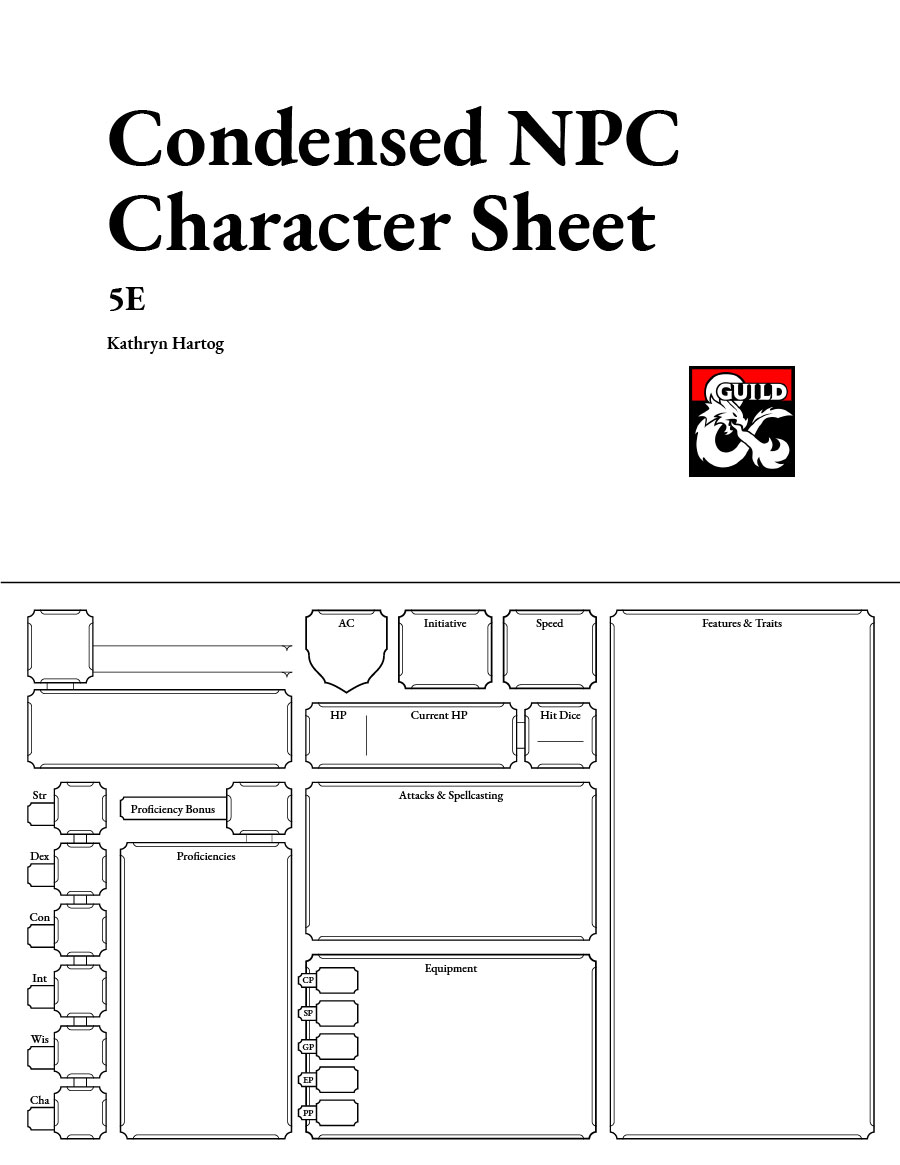 It is a graphic of Dnd 5e Printable Character Sheet for d&d weapon